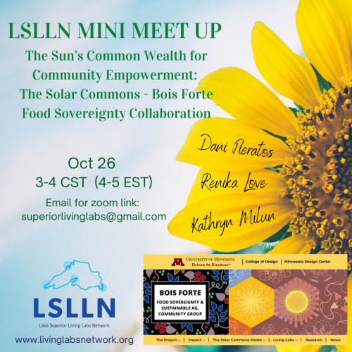 LSLLN Mini Meet - Solar Commons-BoisForteFoodSovCollab Oct 2021 - Poster Final